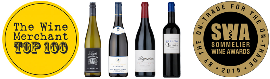Sommelier wine awards + The Wine Merchant Top 100