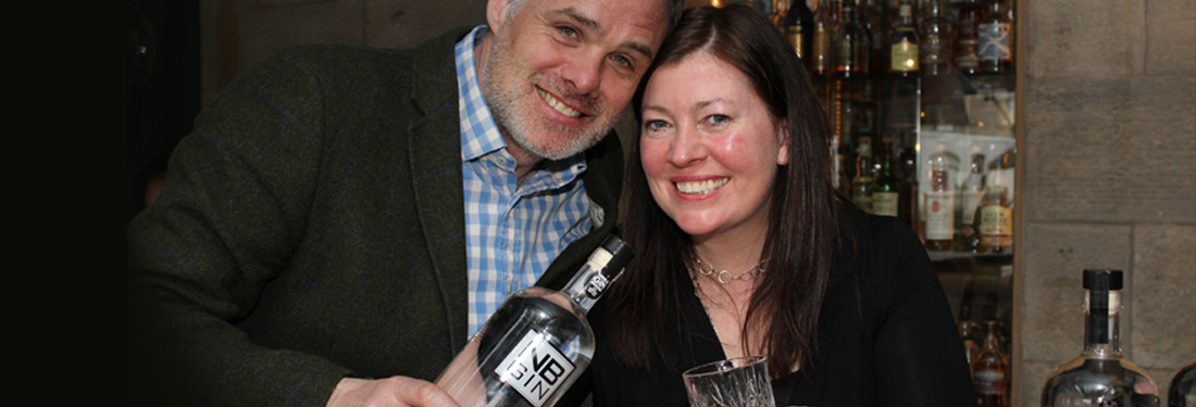 NB gin founding couple Vivienne and Martin Muir